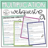 Multiplication WebQuest