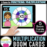 Multiplication Wheel FREEBIE | Boom Cards™ - Distance Learning