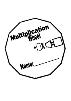 Multiplication Wheel - Times Tables