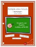 Multiplication Wheel Worksheet