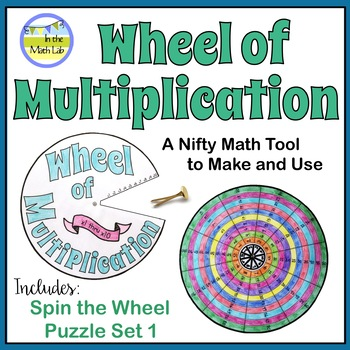 Multiplication Wheel Teaching Resources | Teachers Pay Teachers