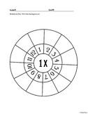 Multiplication Wheels 1-12
