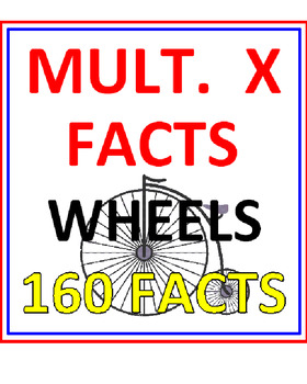 Multiplication Wheels (160 Facts)