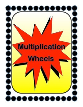 Multiplication Wheels - Fun Math Fact Practice