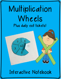 Multiplication Wheels - Interactive Notebook
