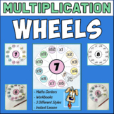 Multiplication Wheels - Lift & Reveal!