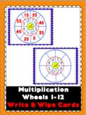 Multiplication Wheels Write & Wipe Cards