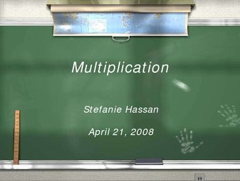 Multiplication: Whole Numbers to Algebra