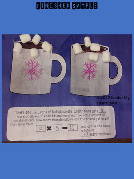 Multiplication~Winter Craftivity