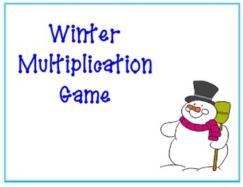 Multiplication Winter Game