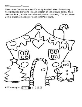 Multiplication Winter Picture