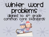 Multiplication Winter Word Problems
