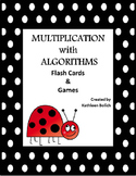 Multiplication With Algorithms Flash Cards And Games
