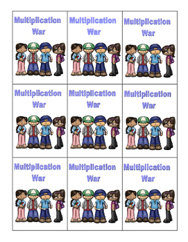 Multiplication Within 100-CCSS.MATH.CONTENT.3.OA.B.5-Game of War