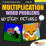 Fun Multiplication Word Problem, 3rd Grade Multiplication Practice Coloring