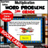 Multiplication Word Problem Boom Cards