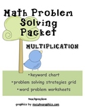 Multiplication Word Problem Packet