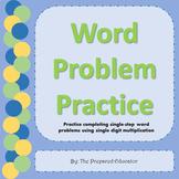Multiplication Word Problem Practice!