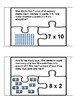 Multiplication Word Problem Puzzles with Models