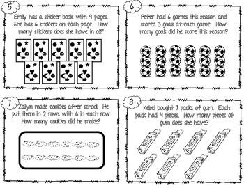 Multiplication Word Problem Scoot