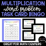 Multiplication Word Problem Task Card Bingo