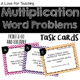 Multiplication Word Problem Task Cards {Digital}