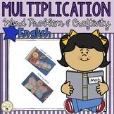 Multiplication Word Problem and Craftivity