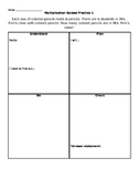Multiplication Word Problems 1