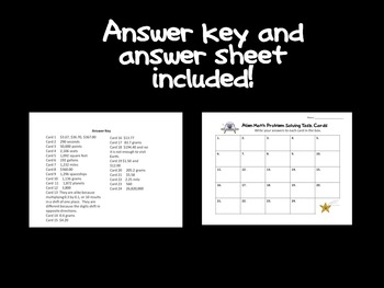 Multiply Decimals and Exponents Task Cards