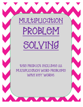 Multiplication Problem Solving