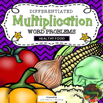 Multiplication Word Problems (Multiplication Worksheets)