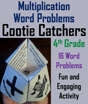 4th Grade Multiplication Word Problems Practice Game