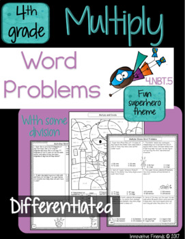 Multiplication Worksheets Word Problems