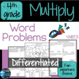 Multiplication Worksheets Word Problems