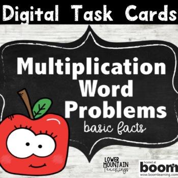 Multiplication Word Problems / Boom Deck