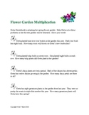 Multiplication Word Problems For Spring