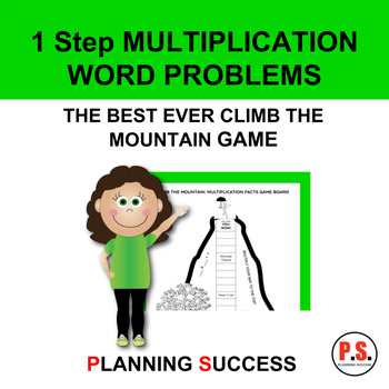 Multiplication Word Problems Game: The Best Ever Climb The Mountain Game