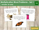 Multiplication Word Problems - Level 1
