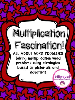 Multiplication Word Problems:  Pictorials, Expressions, & Problem Solving