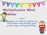 Multiplication Word Problems Powerpoint 3.OA.3