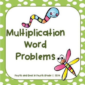 Multiplication Word Problems Task Cards