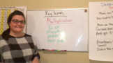 Multiplication Word Problems Teaching Video