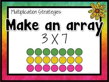 Multiplication Word Problems Think Boards