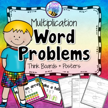Multiplication Word Problems - Think Boards