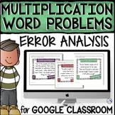 Multiplication Word Problems - Digital