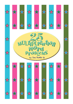 Multiplication Word Problems for Third Grade