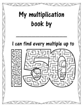 Multiplication Word Problems on 150s Chart Multiples Book