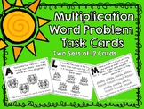 Multiplication Word Problems with Pictures (Groups of)
