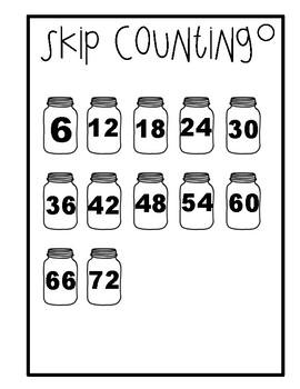 Multiplication Workbook - 6 times tables
