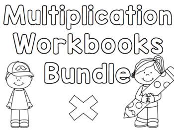 Multiplication Workbook Bundle